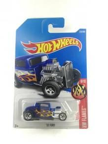 Hotwheels HW Flames Ford '32 #6 Flamin' Blue