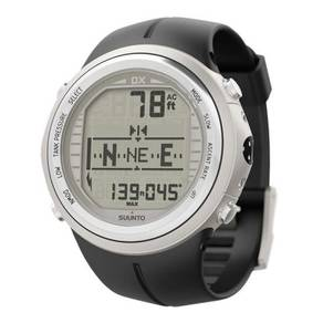 Suunto DX Silver Elastomer with USB cable