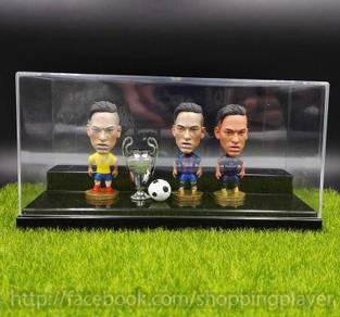 3pcs Neymar Brazil Football toys Ball box set