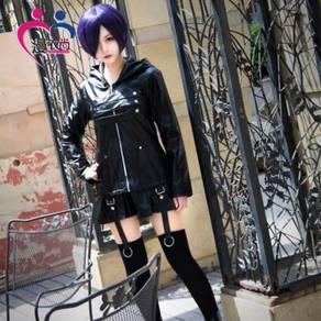 Tokyo ghoul kirishima touka leather cosplay costum