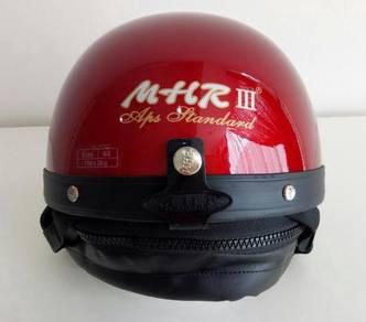 Helmet mhr (1/2 half) - red