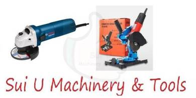Bosch GWS060 Angle Grinder with Grinder Stand