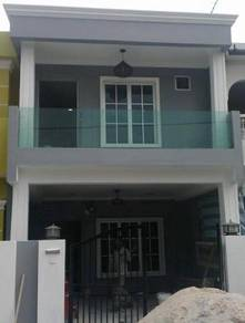 Double storey house alam jaya