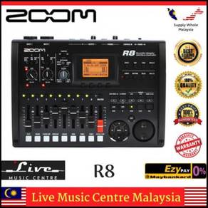 Zoom R8 8-Track Digital Recorder/Interface (R-8)