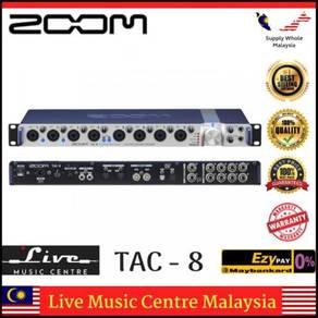 Zoom TAC-8 Thunderbolt Audio Converter (TAC8/TAC)