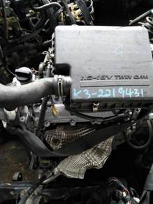 Engine jepun toyota passo k3 1.3 cc pnp myvi