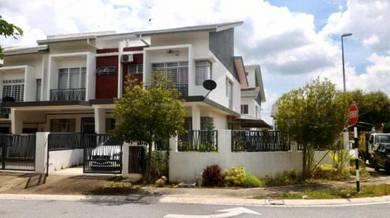 (CHEAPEST) Facing Garden 2 Sty Corner House, M Residence 1, Rawang