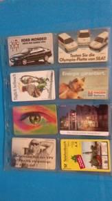 Germany Telefon card used