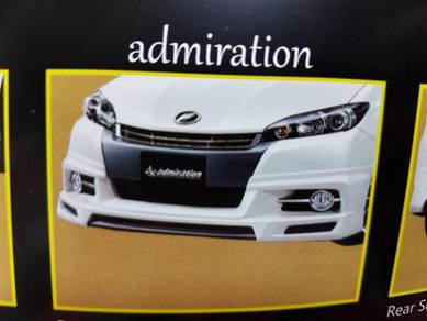 Toyota wish 2012 admiration bodykit with paint