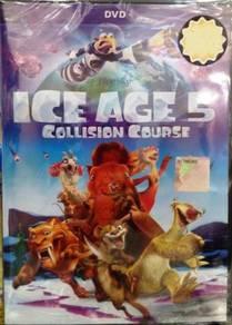 DVD CARTOON Ice Age 5 Collision Course