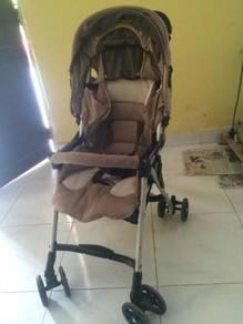 Stroller Combi Well Lite (Light weight & Compact)