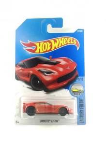 Hotwheels 2017 Corvette C7 Z06 #1 Red