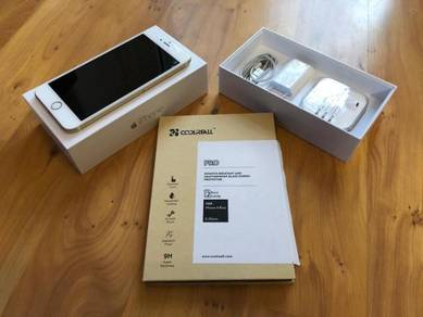 IPhone 6 plus 64GB Gold DiGi Malaysia Set
