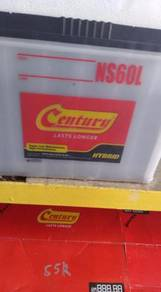 Ns40 CENTURY wet car battery bateri kereta 24jam
