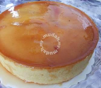 Puding Gula Hangus (puding karamel)