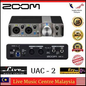 Zoom UAC-2 2-in, 2-out USB 3.0 audio interface UAC