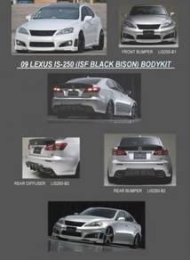 Lexus is250 is 250 bison bodykit body kit bumper