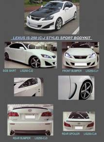 Lexus is250 is 250 CJ bodykit body kit bumper lip