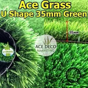 Ace U35mm Green Artificial Grass Rumput Tiruan 01