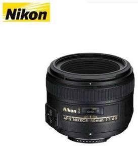 Nikon AF-S Nikkor 50mm F1.4 G Lens (Black)