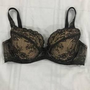 Xixili black lace bra
