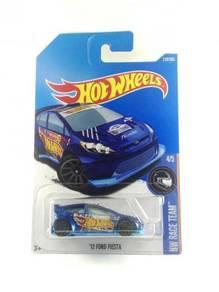 Hotwheels '12 Ford Fiesta #4 HW Racing Blue
