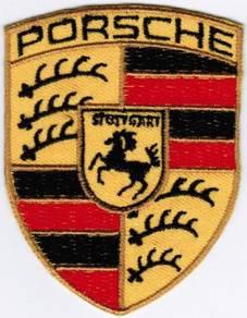 Porsche Emblem Logo Motor Company Automaker Patch