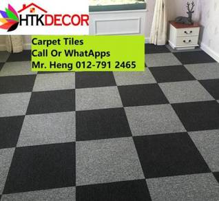DIY Classic Plain Office Carpet Tiles 53y5