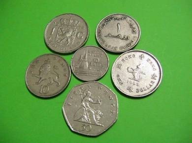 World Coins set (2C)