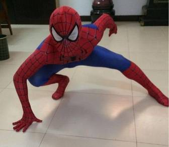 Spiderman cosplay suit