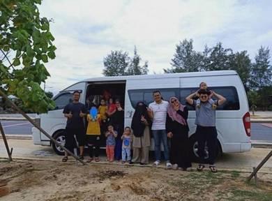 Van sewa Kuala Lumpur 11 15 18 seater