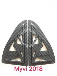 Perodua myvi 2018 3d carbon side widow cover