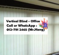 Window Dressing with Vertical Blind 78AQ