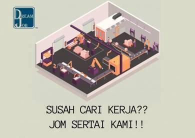 Operator Pengeluaran Kilang Johor -n
