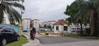 LOW LEVEL Apartment Anggerik Putra Perdana Puchong Selangor