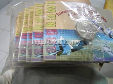 Malaysia Coin card LIMA 2003
