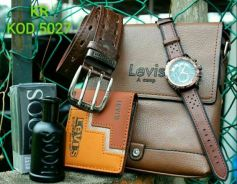 Levi's set 5 in 1 brown