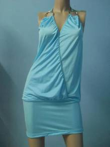CW035 Blue Stylist Clubwear Dress