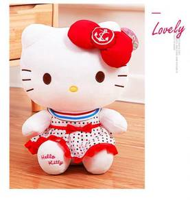 Hello Kitty cute doll plush valentine day gift