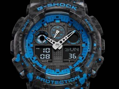 Watch- Casio G SHOCK STASH GA100ST-2A -ORIGINAL