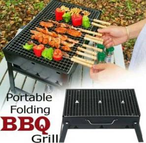 Portable Foldable Outdoor BBQ Grill (4)