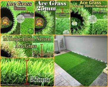 Artificial Grass Serat U/M Rumput Tiruan Carpet 01