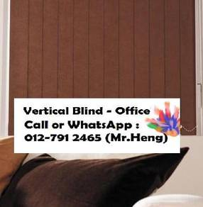 Easy Use Vertical Blind - with installation 12AO