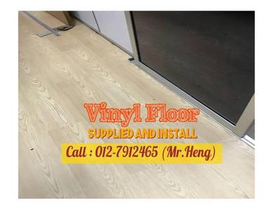 5NEW Made Vinyl Floor with Install 91LE