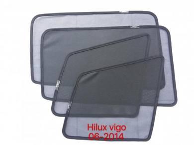 Toyota hilux vigo sun shade with magnet 4 pcs