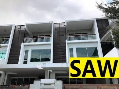 Bukit Dumbar Residence 3 Storey Terrace 3000sqft Jelutong