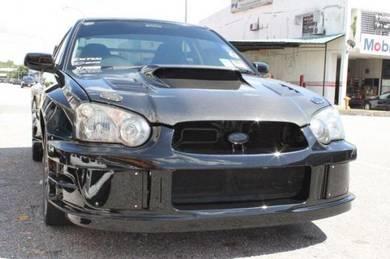 Subaru Impreza V8 WRC launsport bodykit bumper