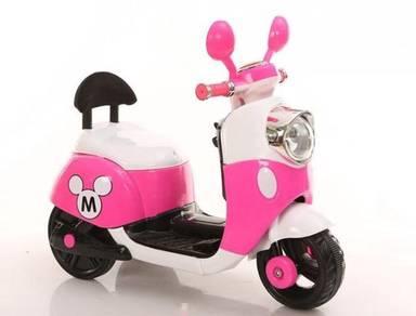 KIDS cute pink bike scooter permainan KIDS JB sale