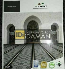 Install&supply; mosque carpet, karpet masjid