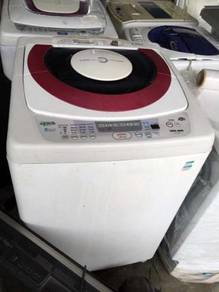 Toshiba 9kg Mesin Automatic Basuh Refurbish Washer